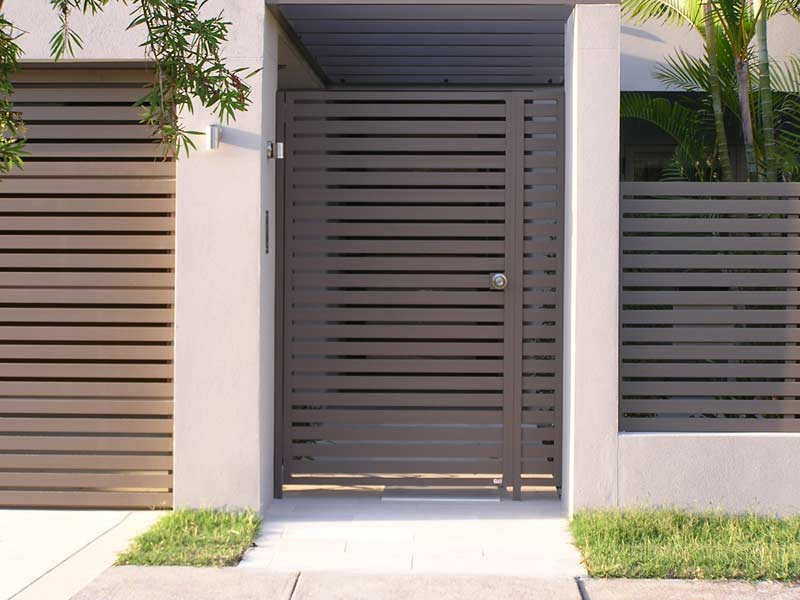 Gate designs steel gates