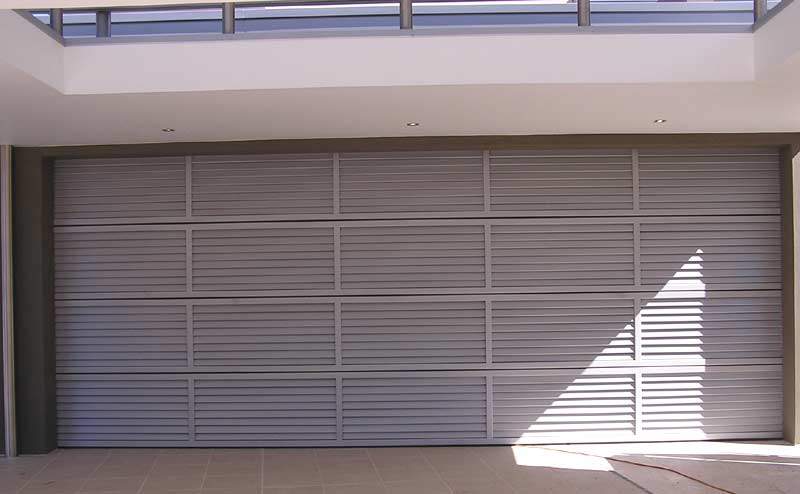 Louvre Panel Door By Pirie Enterprises Gold Coast Garage Doors
