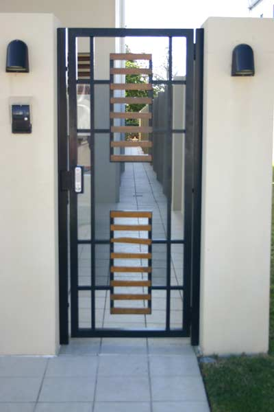 Pirie Gates Pedestrian And Entrance Gates