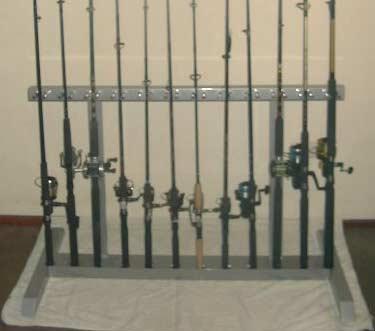 Fishing Rod Floor Rack